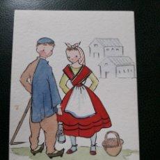 Postales: ANTIGUA POSTAL DE ASTURIANOS. Lote 194209153
