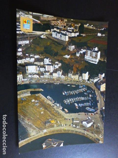 LUARCA ASTURIAS VISTA PARCIAL AEREA (Postales - España - Asturias Moderna (desde 1.940))