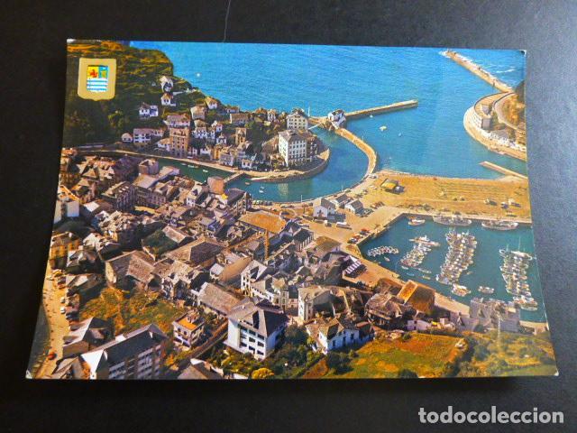 LUARCA ASTURIAS VISTA AEREA (Postales - España - Asturias Moderna (desde 1.940))