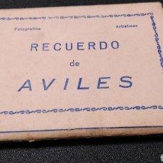 Postales: RECUERDO AVILÉS LL. Lote 194291100