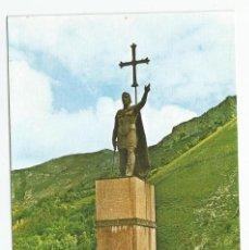 Postales: POSTAL DE COVADONGA MONUMENTO AL REY DON PELAYO-EDICIONES SICILIA Nº 11-EDICION DE LUJO-SIN CIRCULAR. Lote 194291596