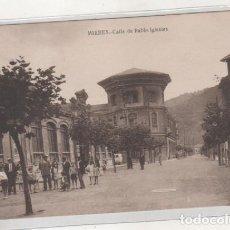 Postales: MIERES CALLE DE PABLO IGLESIAS. SIN CIRCULAR.. Lote 194554958