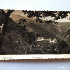 Postales: POSTAL -- COVADONGA - VISTA ARTISTICA -- CIRCULADA -- . Lote 194622627