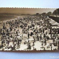 Postales: POSTAL -- GIJON - PLAYA SAN LORENZO -- ESCRITA -- . Lote 194622973