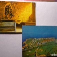 Postales: LOTE POSTALES PERLORA.-CIUDAD RESIDENCIAL SINDICAL AEREA Y CAPILLA CM. Lote 194645761