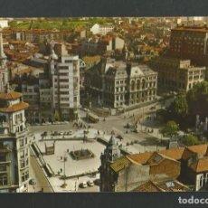 Postales: POSTAL CIRCULADA - OVIEDO 34 - PLAZA DEL GENERALISIMO - EDITA ALARDE. Lote 194928533