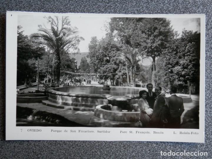 Postales: OVIEDO LOTE DE 9 POSTALES FOTOGRÁFICAS ANTIGUAS - Foto 5 - 194947587