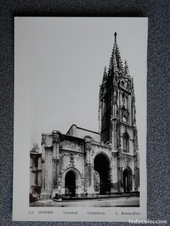 Postales: OVIEDO LOTE DE 9 POSTALES FOTOGRÁFICAS ANTIGUAS - Foto 7 - 194947587