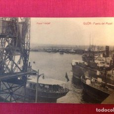 Postales: ANTIGUA POSTAL DE GIJON. Lote 194964338