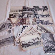 Postales: 4-LOTE POSTALES ANTIGUAS ASTURIAS, EDITADAS POR PERIODICOS DE LA REGION.. Lote 195008073