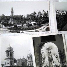 Postales: CÁDIZ, 5 POSTALES FOTOGRÁFICAS. SIN CIRCULAR. ED. SUR, ED. ARRIBAS. Lote 195052707