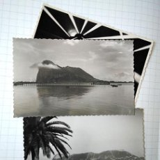 Postales: GIBRALTAR, ALGECIRAS, LA LÍNEA, 3 POSTALES FOTOGRÁFICAS. SIN CIRCULAR. ED. SUR, GARCÍA GARRABELLA. Lote 195052756