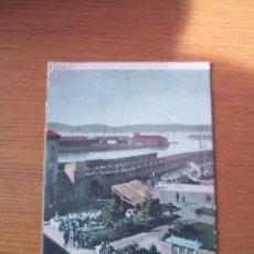 Postales: POSTAL GIJÓN MUELLES. Lote 195209498
