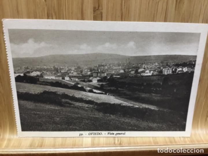 POSTAL DE OVIEDO.VISTA GENERAL.I. ROISIN. (Postales - España - Asturias Antigua (hasta 1.939))