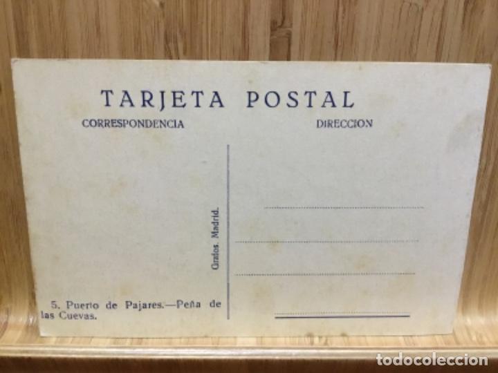 Postales: Postal del puerto de pajares.peña de las cuevas.grafos. - Foto 2 - 195242170
