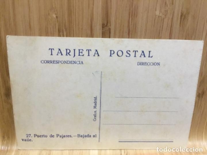 Postales: Postal del puerto de pajares.Bajada al valle. - Foto 2 - 195242270