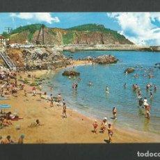Postales: POSTAL SIN CIRCULAR - CANDAS 1 - PLAYA - ASTURIAS - EDITA GARCIA GARRABELLA. Lote 195317683