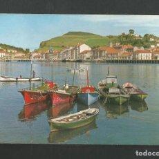 Postales: POSTAL CIRCULADA - RIBADESELLA 6 - MUELLE - EDITA GARCIA GARRABELLA. Lote 195328231