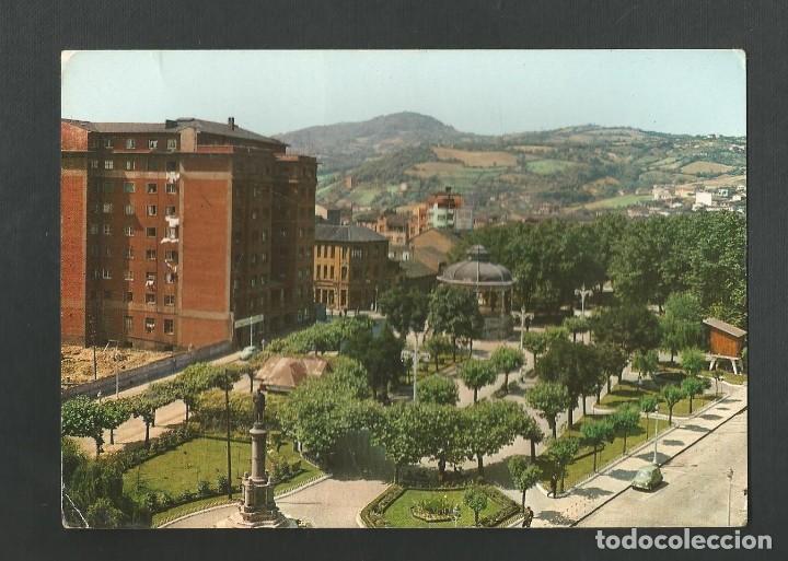 POSTAL CIRCULADA - LA FELGUERA 61 - VISTA DEL PARQUE - ASTURIAS - EDITA ALARDE (Postales - España - Asturias Moderna (desde 1.940))