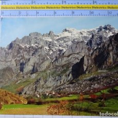 Postales: POSTAL DE ASTURIAS. AÑO 1970. PICOS DE EUROPA VALLE DE VALDEÓN CORDIÑANES 418 ALCE 122. Lote 195343186