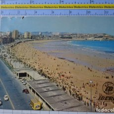 Postales: POSTAL DE ASTURIAS. AÑO 1973. GIJÓN. PLAYA DE SAN LORENZO. AEROLÍNEAS IBERIA. CAMIÓN COCA COLA. 125. Lote 195343277