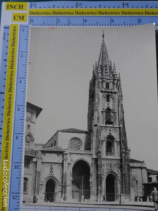 FOTO POSTAL DE ASTURIAS. AÑOS 30 50. OVIEDO CATEDRAL. 130 (Postales - España - Asturias Antigua (hasta 1.939))