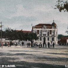 Postales: GIJÓN. HOTEL DE D. S. ALESON. BENIGNO POLO. COLOREADA. SIN CIRCULAR.. Lote 195885442