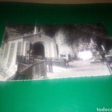 Postales: MUY ANTIGUA POSTAL. NUESTRA SEÑORA DE COVADONGA. INTERIOR DE LA GRUTA. AÑOS 50. Lote 196005238