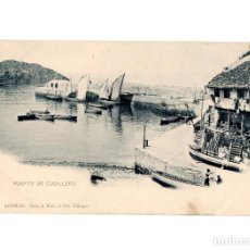 Postales: CUDILLERO.(ASTURIAS).- EL PUERTO. SERIE A. Nº4. FOT VILLEGAS. Lote 196218906