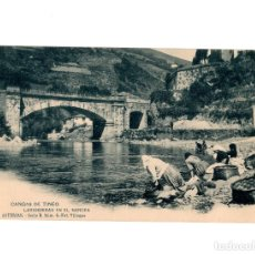 Postales: CANGAS DE TINEO.(ASTURIAS).- LAVANDERAS EN EL NARCEA. SERIE B. Nº6. FOT VILLEGAS.. Lote 196233000