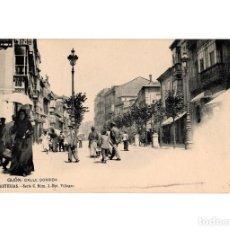 Postales: GIJÓN.(ASTURIAS).- CALLE CORRIDA. SERIE C. Nº3. FOT VILLEGAS.. Lote 196294971