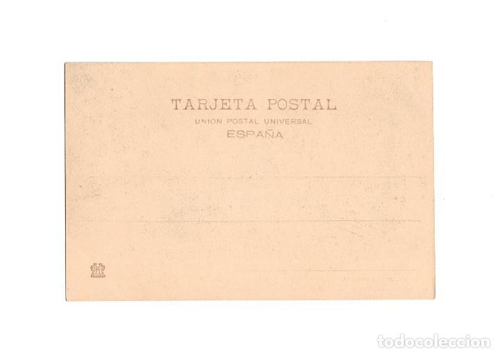 Postales: GIJÓN.(ASTURIAS).- CALLE CORRIDA. SERIE C. Nº3. FOT VILLEGAS. - Foto 2 - 196294971