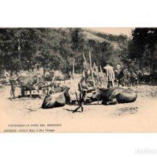 Postales: ASTURIAS.- ESPERANDO LA HORA DEL MERCADO. SERIE C. Nº5. FOT VILLEGAS.. Lote 196295475