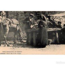 Postales: ASTURIAS.- TIPOS ASTURIANOS, UN FERREIRO. . SERIE C. Nº8. FOT VILLEGAS.. Lote 196296185