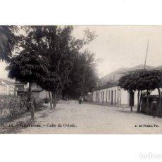 Postales: VILLAVICIOSA.(ASTURIAS).- CALLE DE OVIEDO. POSTAL FOTOGRÁFICA.. Lote 196389337