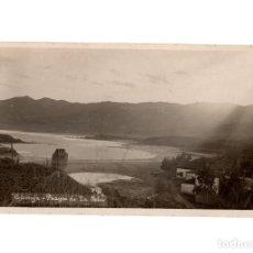 Postales: COLUNGA.(ASTURIAS).- PLAYA DE LA ISLA. POSTAL FOTOGRÁFICA.1926.. Lote 196389677