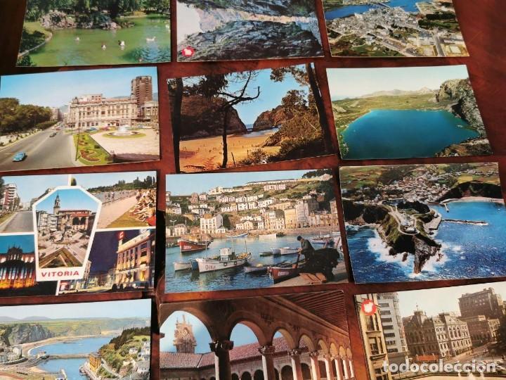 Postales: 15 POSTALES DEL NORTE DE ESPAÑA, ASTURIAS, OVIEDO, LUARCA, VICTORIA, LEON, RIBADESELLA, NAVIA - Foto 3 - 196510183