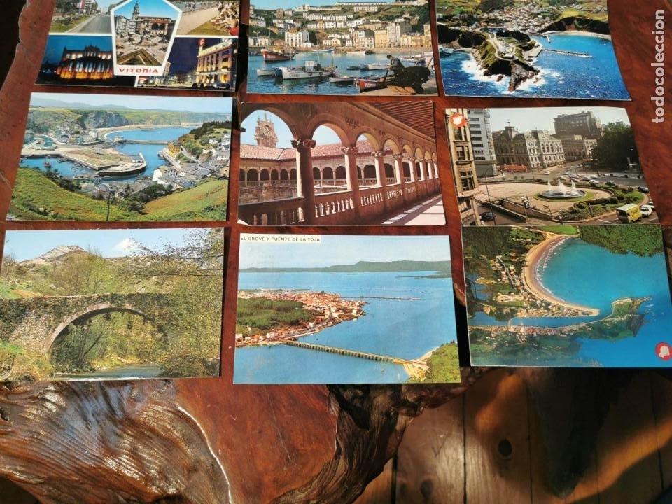 Postales: 15 POSTALES DEL NORTE DE ESPAÑA, ASTURIAS, OVIEDO, LUARCA, VICTORIA, LEON, RIBADESELLA, NAVIA - Foto 4 - 196510183