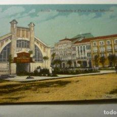 Postales: POSTAL AVILES PESCADERIA Y PL-S-SEBASTIAN.-CM. Lote 196602180