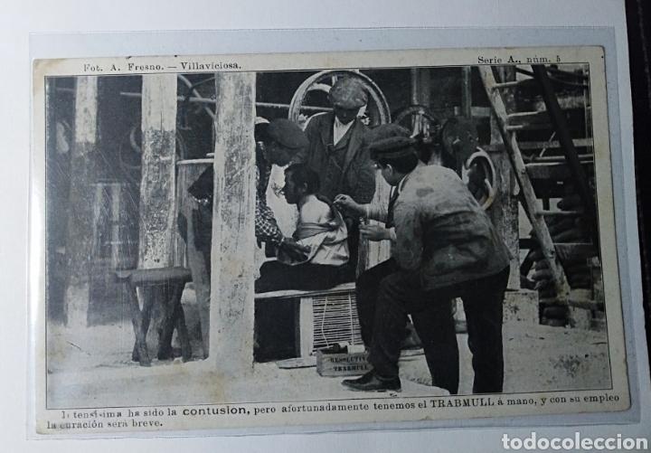 VILLAVICIOSA, ASTURIAS, PUBLICITARIA, RESOLUTIVO TRABMULL. (Postales - España - Asturias Antigua (hasta 1.939))