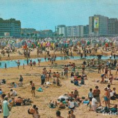 Cartes Postales: GIJON (ASTURIAS) PLAYA DE SAN LORENZO - GARCIA GARRABELLA Nº 19 - CIRCULADA. Lote 197056196