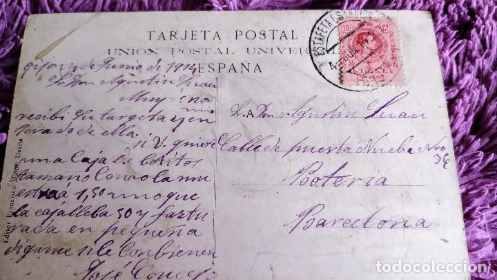 Postales: Postal Gijón.plaza San miguel - Foto 2 - 197675000