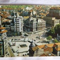 Cartes Postales: OVIEDO 34 PLAZA DEL GENERALISIMO EDITA ALARDE CIRCULADA 1968. Lote 198835232