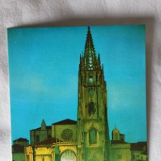 Cartes Postales: OVIEDO. 35 LA CATEDRAL. NOCTURNA. ED. ALARDE. SIN CIRCULAR. Lote 198838223