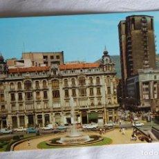Cartes Postales: OVIEDO - 58 PLAZA DEL GENERALÍSIMO ED ALARDESIN CIRCULAR COCHES ANTIGUOS. Lote 198844985