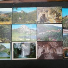 Postales: COVADONGA, LOTE DE 11 POSTALES. Lote 199660183