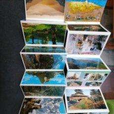 Postales: ASTURIAS Y PICO DE EUROPA, LOTE DE DOS LIBRITOS. Lote 199662497