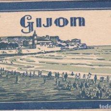 Postales: GIJON (ASTURIAS) - TACO DE 20 POSTALES. Lote 200191835