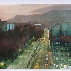 Cartes Postales: OVIEDO - CALLE URÍA - NOCTURNA - A1. Lote 200250307