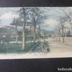 Postales: AVILES ASTURIAS EL PARQUE. Lote 203764881